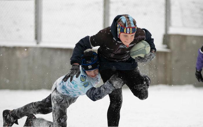 У Тернополі юні регбісти боролися за перемогу