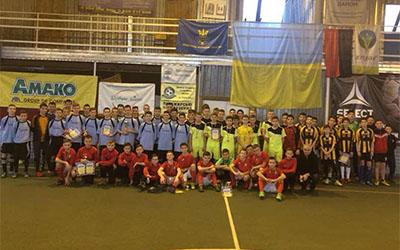 ДЮСШ Тернопіль стала переможцем відкритого новорічного чемпіонату міста з футзалу