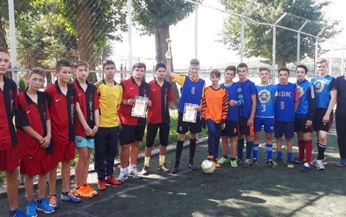 У Тернополі відбувся турнір з міні-футболу серед учнів шкіл-інтернатів