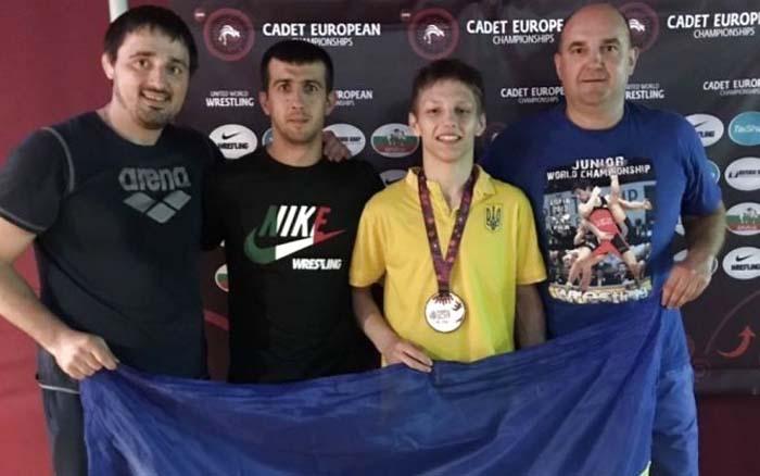 Тернополянин Володимир Войтович став призером чемпіонату Європи з боротьби