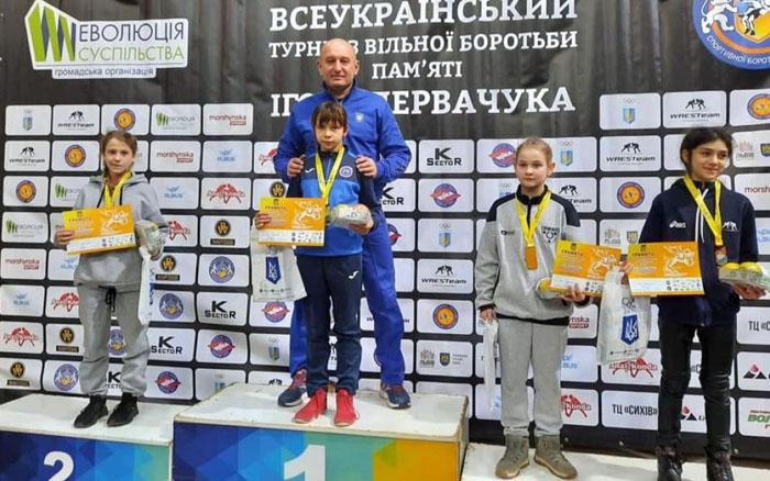 Троє тернопільських спортсменів здобули призові місця на міжнародному турнірі з вільної боротьби