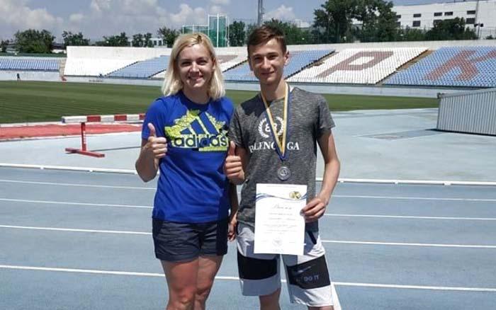 Тернопільський метальник виборов срібну медаль на чемпіонаті України