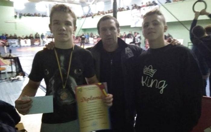 Борець з Тернопілля став призером Міжнародного турніру у Молдові