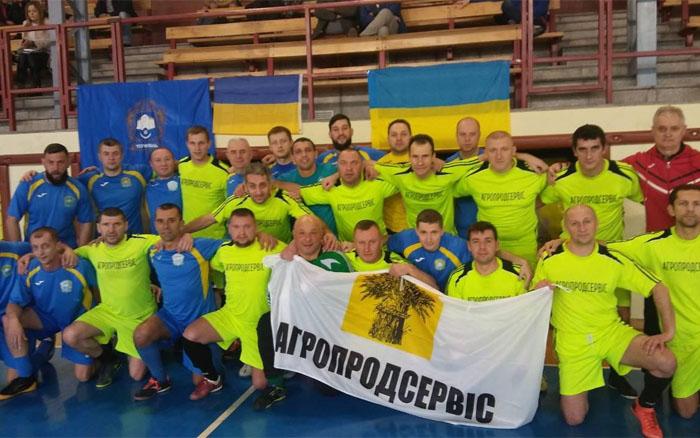Тернополяни достойно виступили на ветеранському турнірі в Польщі