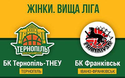 Тернопільські баскетболістки приймають БК Франківськ