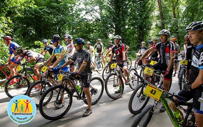 В Тернополі відбулися змагання з велосипедного спорту крос-кантрі