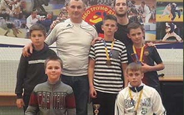 У юних тернопільських дзюдоїстів – сім медалей