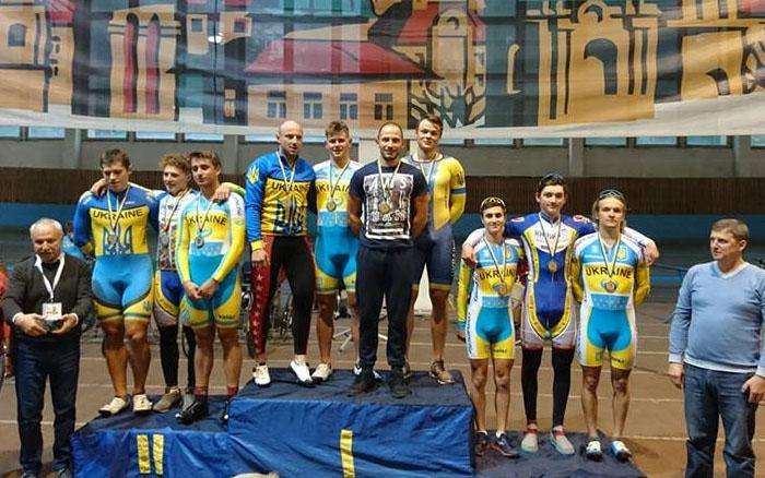 Тернопільські велосипедисти завоювали шість золотих і одну бронзову медалі