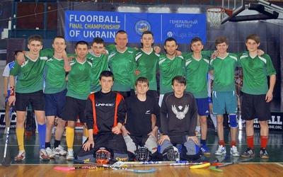 Кубок України з флорболу підкорився юним тернополянам