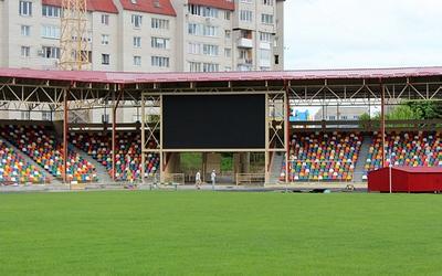 Тернопільський стадіон 4 роки функціонує без архітектурно-будівельних дозволів