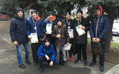 Тернопільські борці привезли медалі з Вінниці