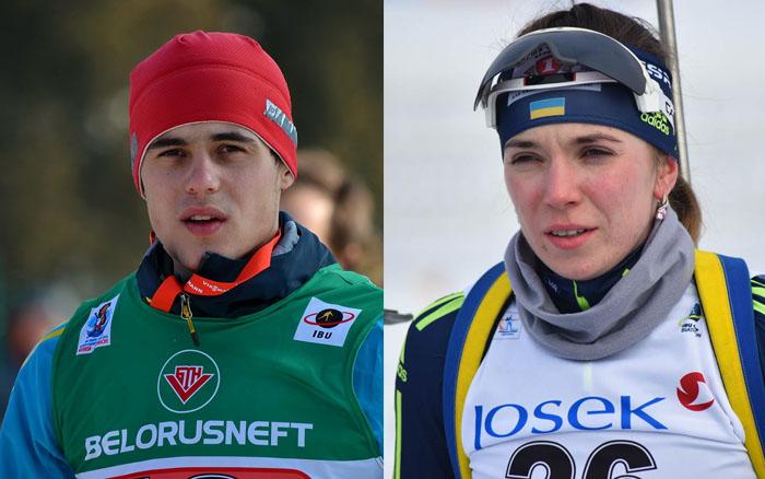 Віталій Труш та Марія Кручова проведуть спринтерську гонку на етапі кубка IBU