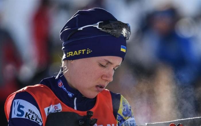 Сьогодні Меркушина проведе останню гонку першого етапу Кубку світу з біатлону