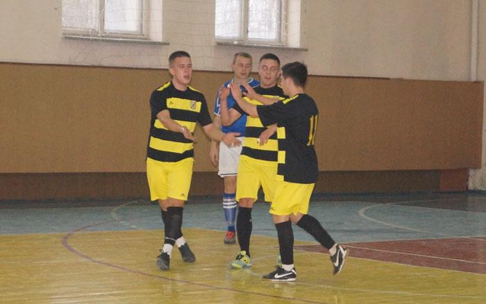 Результати 1-го туру Вищої футзальної ліги Тернопільщини