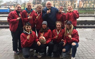Тернопільські регбістки здобули бронзові медалі Чемпіонату України