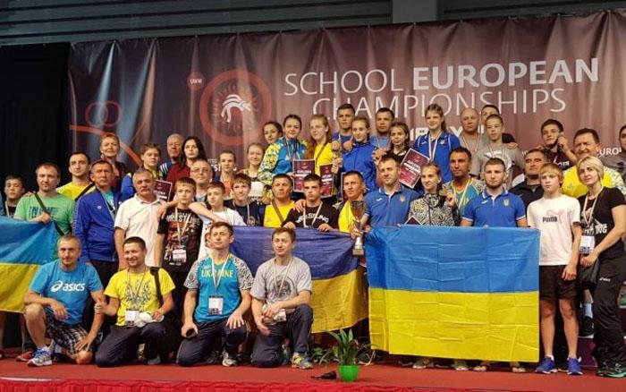 Вероніка Кондратенко посіла пяте місце на чемпіонаті Європи серед школярів