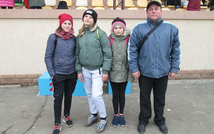 Порадували наші юні легкоатлети в командному чемпіонаті України з легкоатлетичного кросу