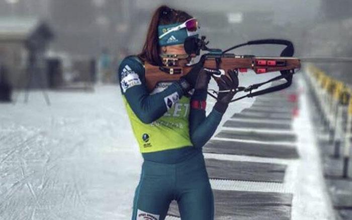 Марія Кручова 16-а в гонці переслідування на Кубку IBU