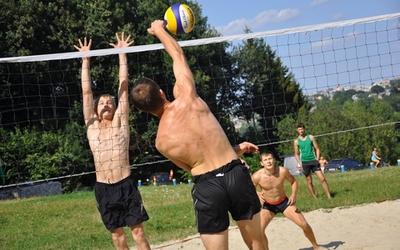 Волейбол на пляжі вперше зіграли у Тернополі