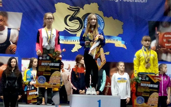 Тернополяни привезли повний комплект медалей чемпіонату України з пауерліфтингу