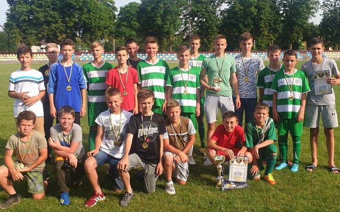 П'ятиріччя Скалатської громади відзначили дитячим футбольним турніром