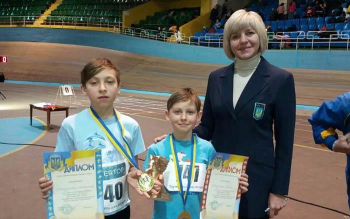 Юні тернопільські легкоатлети привезли нагороди зі змагань у Львові