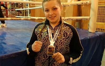 Тернополянка виграла срібну медаль на чемпіонаті України з боксу