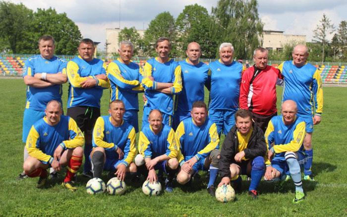Стартував чемпіонат Тернопільської області серед ветеранів
