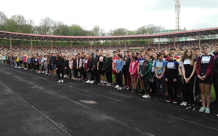 У Тернополі відбулись змагання з легкої атлетики серед школярів області