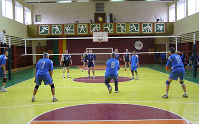 В Тернополі відбувся відкритий обласний турнір з волейболу серед ветеранів