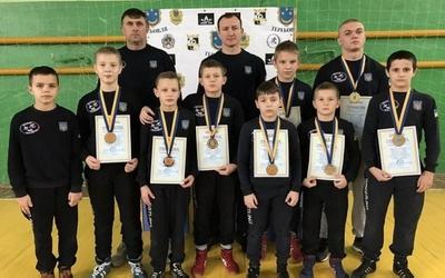 П'ятеро юних борців зі Збаража стали чемпіонами всеукраїнських турнірів