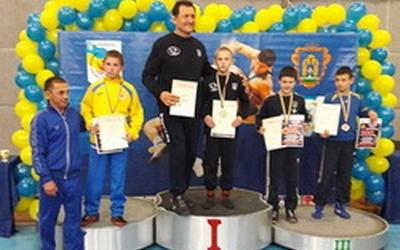 Як виступили тернополяни на чемпіонаті України з вільної боротьби