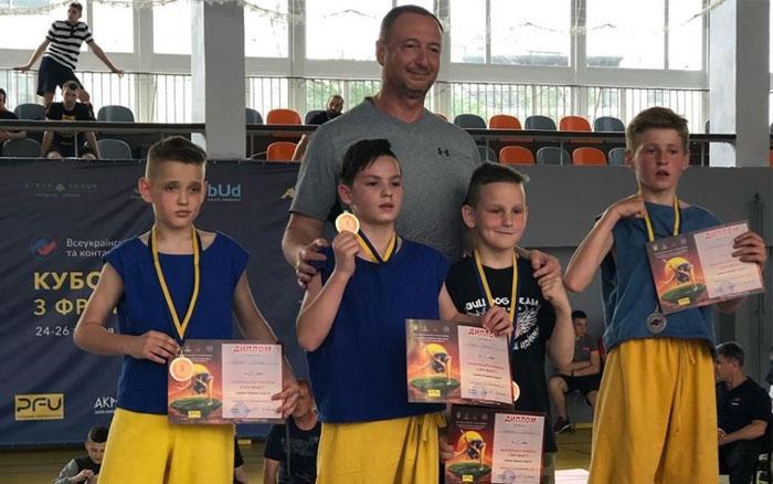 Збірна Тернополя здобули медалі на Чемпіонаті України з фрі-файту