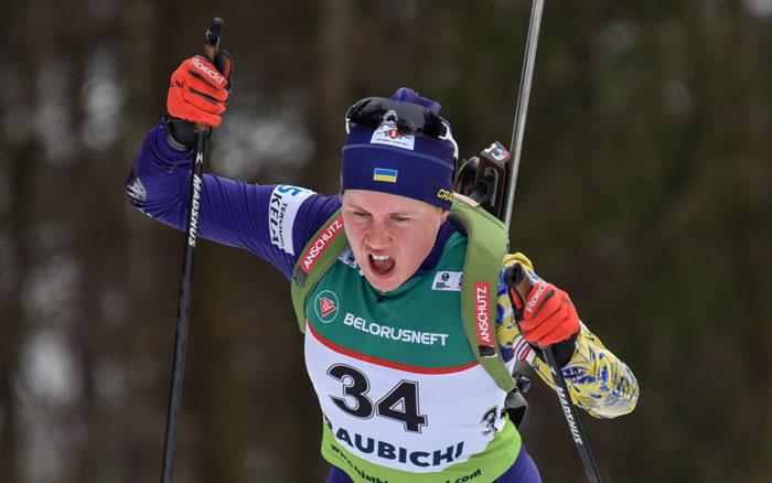Меркушина - 15-а в персьюті Чемпіонату світу