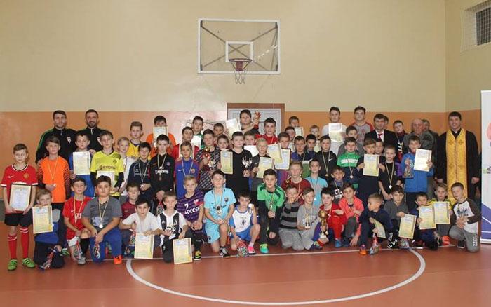 У Хоросткові відбувся парафіяльний турнір з міні-футболу