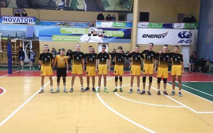 У Тернополі юнаки проведуть фінальний тур чемпіонату України з волейболу
