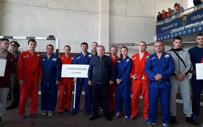 У тернополян сім медалей на Кубку України з універсального бою