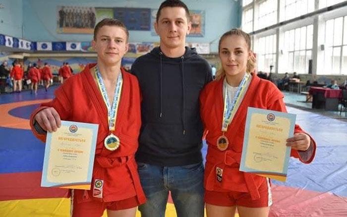 Студенти ТНЕУ успішно виступиои на Чемпіонаті України зі спортивного самбо