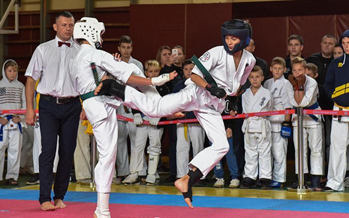 В Тернополі відбувся відкритий чемпіонат області з кіокушин-кан карате