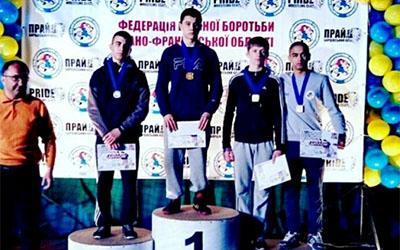 Тернополяни здобули медалі Міжнародного турніру з боротьби