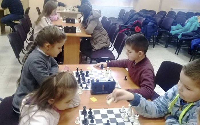 В Хоросткові відбувася Чемпіонат району з шахів