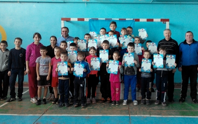 В Озерні визначили найкращих юних легкоатлетів Зборівської ДЮСШ