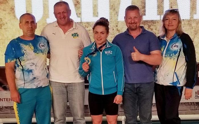 Тернопільська важкоатлетка Марія Хлян стала чемпіонкою України