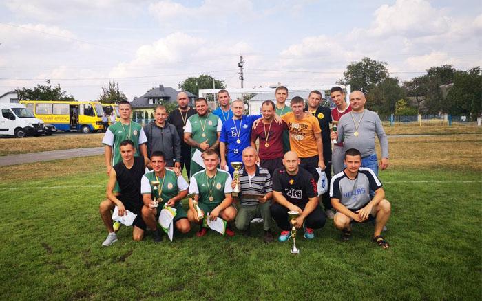 Підволочиська громада найкраще грає міні-футбол