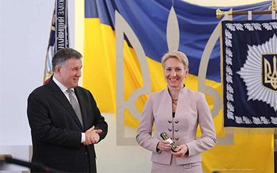 Олена Підгрушна стала майором Національної гвардії (ФОТО, ВІДЕО)