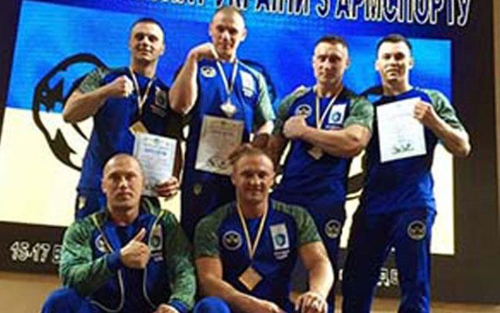 Тернопільські рукоборці завоювали сім медалей на чемпіонаті України з армспорту