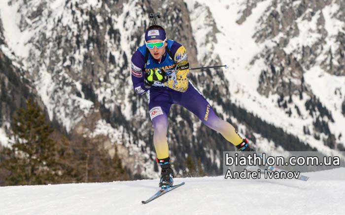 Збірна України стала п'ятою на IX етапі Кубка світу з біатлону у змішаній естафеті