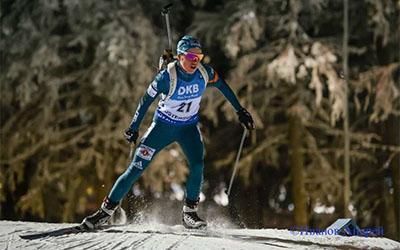 Меркушина прийме участь у масс-старті на п'ятому етап Кубка світу з біатлону