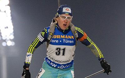Сьогодні Анастасія Меркушина побіжить на Кубку IBU