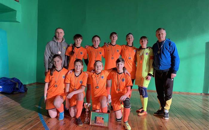 Тернопільські дівчата – треті на всеукраїнському турнірі в Маневичах